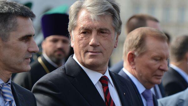 Były prezydent Ukrainy Wiktor Juszczenko - Sputnik Polska