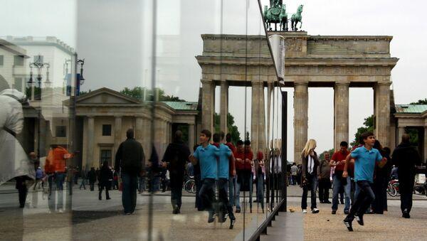 Brama Brandenburska w Berlinie - Sputnik Polska