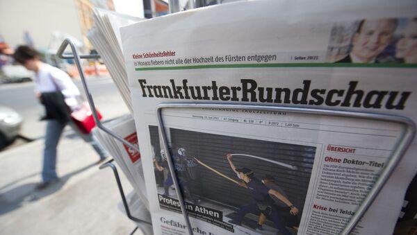 Niemieckie gazety - Sputnik Polska
