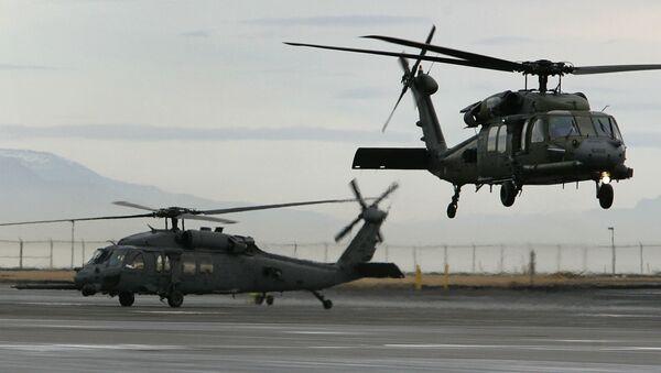 Amerykańskie helikoptery w bazie Keflavik - Sputnik Polska