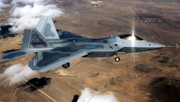 Amerykański myśliwiec F-22 - Sputnik Polska