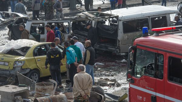 Atak terrorystyczny w Homs - Sputnik Polska