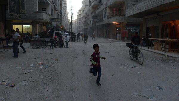Dzieci w Syrii - Sputnik Polska