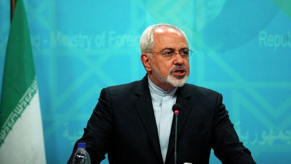 Szef irańskiej dyplomacji Mohammad Dżawad Zarif - Sputnik Polska