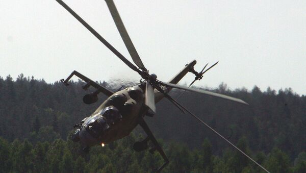 The Mi-24 assault helicopter, which spawned a slew of nicknames, from 'Crocodile' (Krokodil), to 'Drinking Glass' (Stakan), to 'Flying Tank' (Letayushchiy Tank). - Sputnik Polska