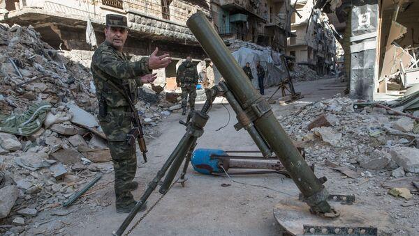 Syryjskie miasto Aleppo - Sputnik Polska