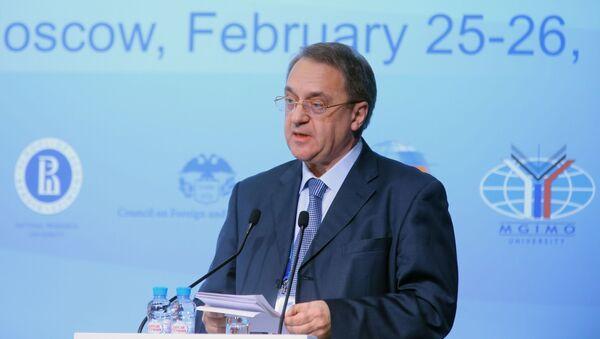 Wiceminister spraw zagranicznych Rosji Michaił Rosyjski Bogdanow, - Sputnik Polska