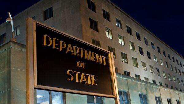 Budynek Departamentu Stanu USA w Waszyngtonie - Sputnik Polska