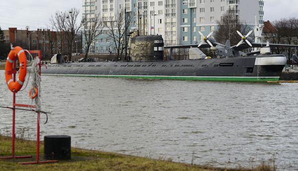 Okręt podwodny B-413 w Muzeum Wszechoceanu w Kaliningradzie - Sputnik Polska