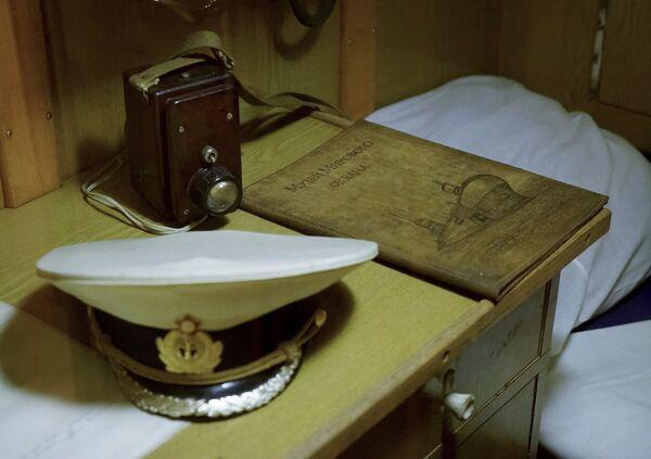 Koja na okręcie podwodnym B-413 w Muzeum Wszechoceanu w Kaliningradzie - Sputnik Polska