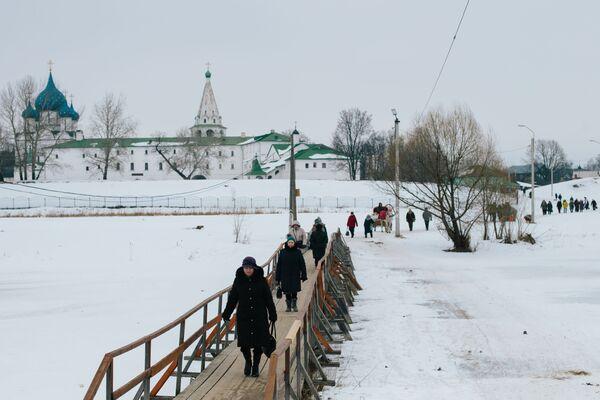 Most przez rzekę Kamienka w Suzdalu - Sputnik Polska