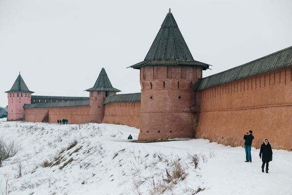 Monaster Spaso-Jewfimiejewski w Suzdalu - Sputnik Polska