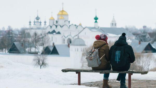 Turyści w Suzdalu - Sputnik Polska