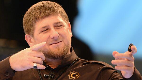 Szef Czeczenii Ramzan Kadyrow - Sputnik Polska