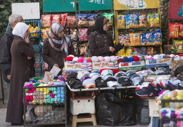 Handel na ulicy Damaszku - Sputnik Polska