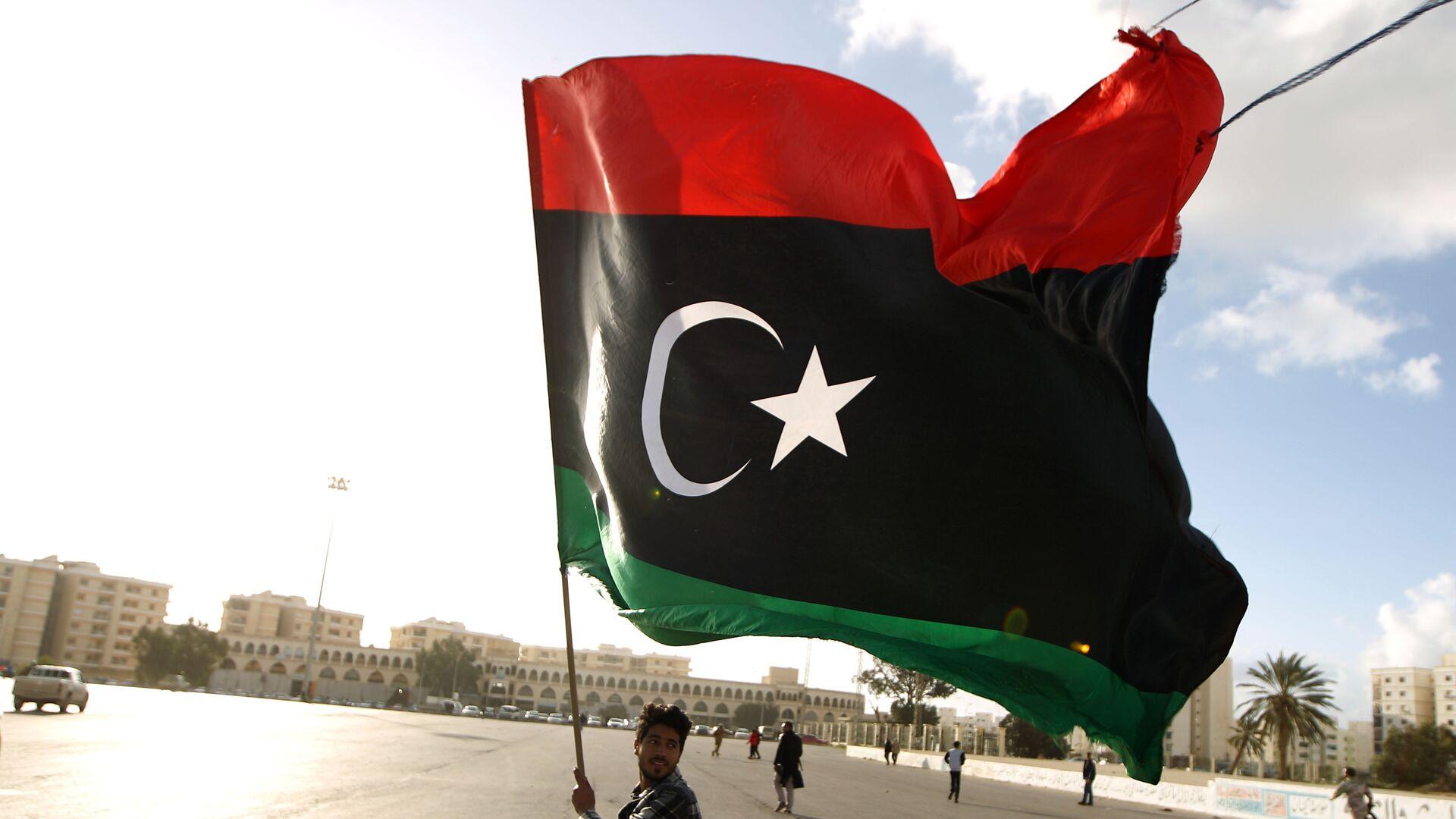 Flaga Libii - Sputnik Polska, 1920, 21.09.2021