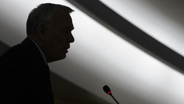 Francuski minister spraw zagranicznych Jean-Marc Ayrault w Genewie - Sputnik Polska
