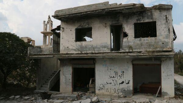Meczet wioski Gmam w prowincji Latakia - Sputnik Polska
