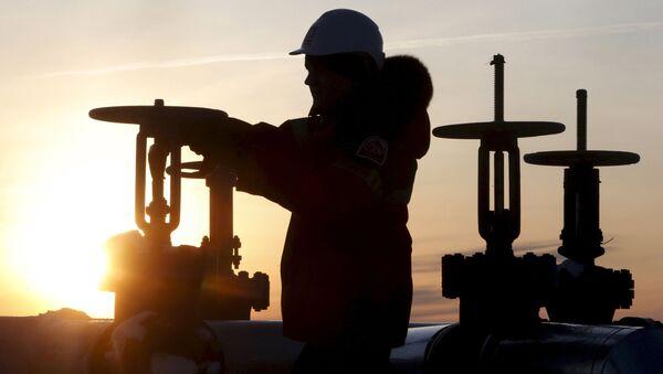 Wydobycie ropy naftowej - Sputnik Polska