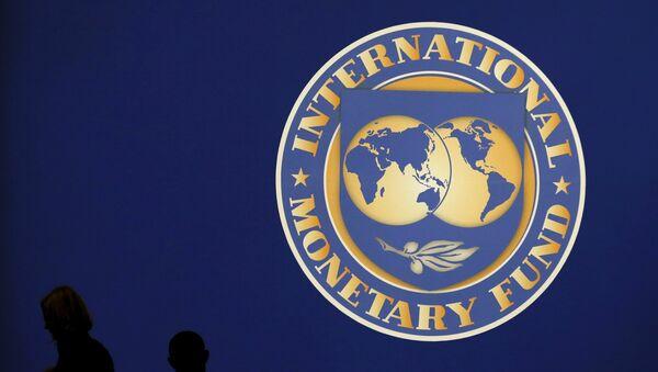 Logo Międzynarodowego Funduszu Walutowego - Sputnik Polska