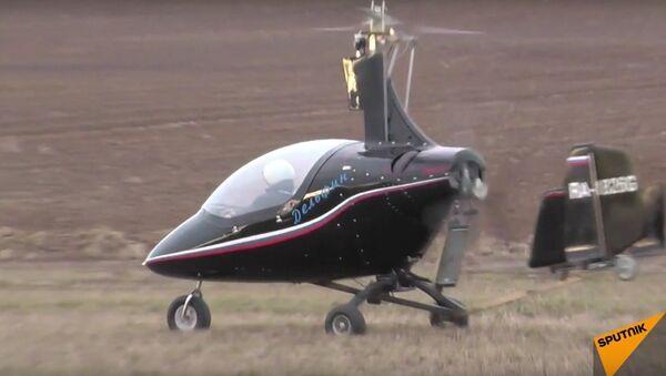 Rosyjski wiatrakowiec w akcji - Sputnik Polska