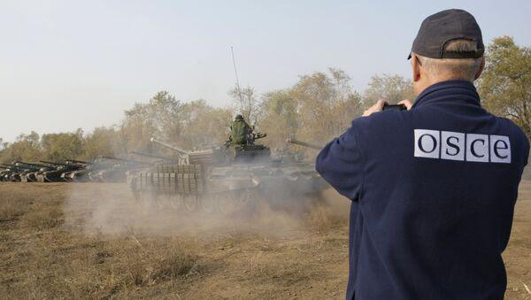 Specjalna misja obserwacyjna OBWE na Ukrainie - Sputnik Polska