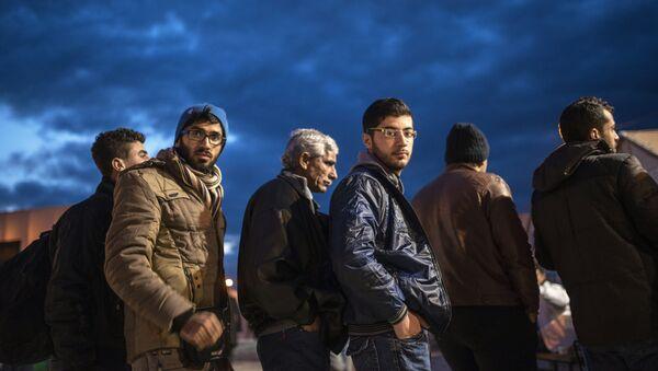 Uchodźcy - Sputnik Polska
