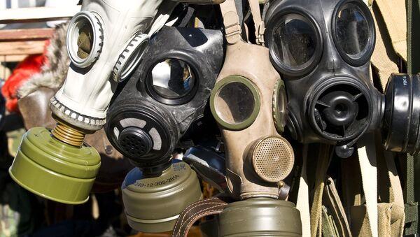 Maski przeciwgazowe - Sputnik Polska