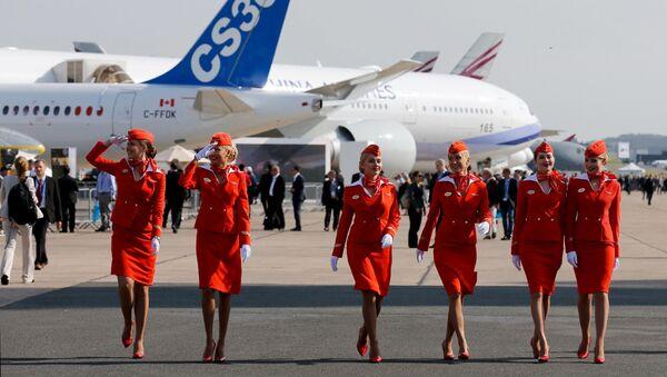Stewardessy Aeroflotu. - Sputnik Polska