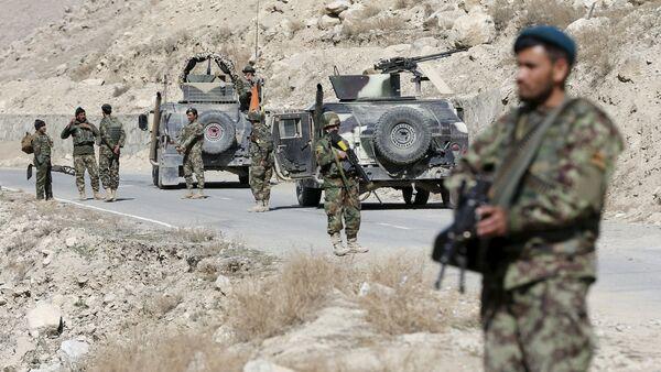 Afgańscy żołnierze na posterunku w prowincji Logar - Sputnik Polska