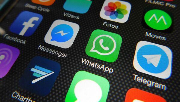 Whatsapp, Facebook Messenger, Telegram, Messages - Sputnik Polska