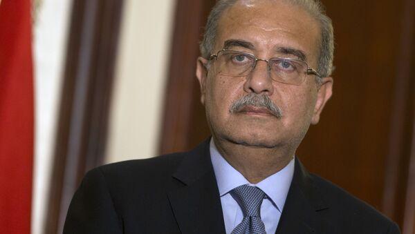 Premier Egiptu Szarif Isma'il - Sputnik Polska