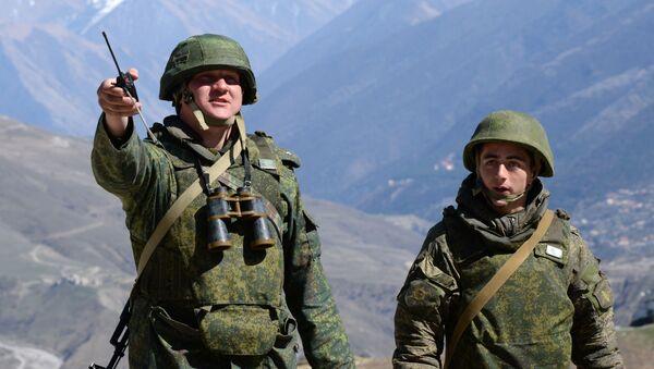Ćwiczenia taktyczne w republice Północnej Osetii-Alanii - Sputnik Polska