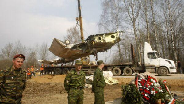 Miejsce katastrofy Tu-154 pod Smoleńskiem - Sputnik Polska