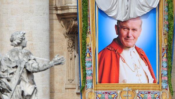 Portret Jana Pawła II - Sputnik Polska