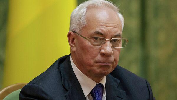 Były premier Ukrainy Mykoła Azarow - Sputnik Polska