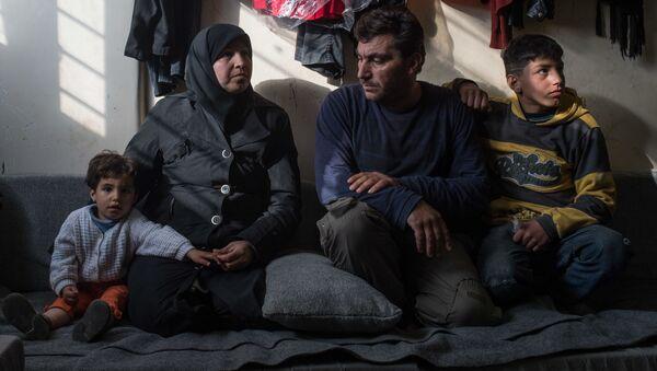 Obóz dla uchodźców w Damaszku - Sputnik Polska