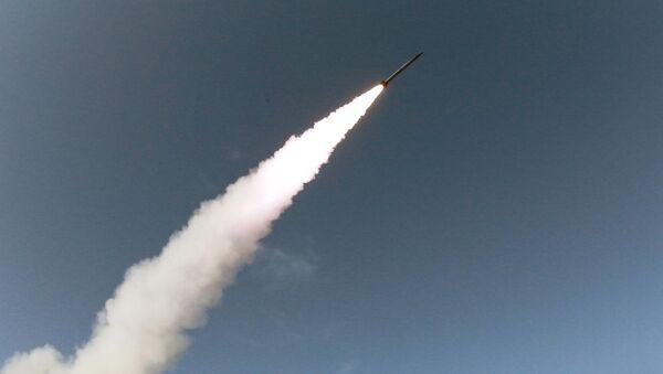 Start północnokoreańskiego pocisku  - Sputnik Polska