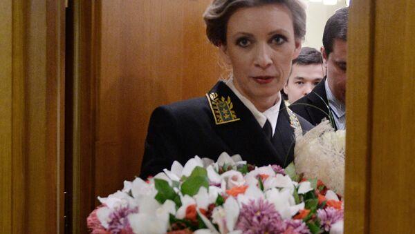 Rzeczniczka rosyjskiego MSZ Maria Zacharowa - Sputnik Polska