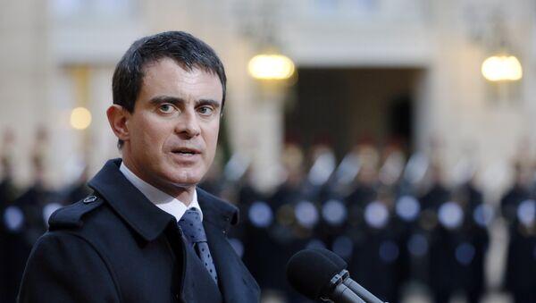 Premier Francji Manuel Valls - Sputnik Polska
