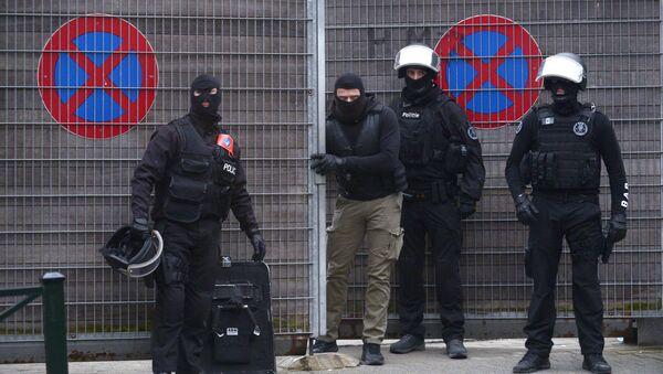 Operacja antyterrorystyczna w Brukseli - Sputnik Polska