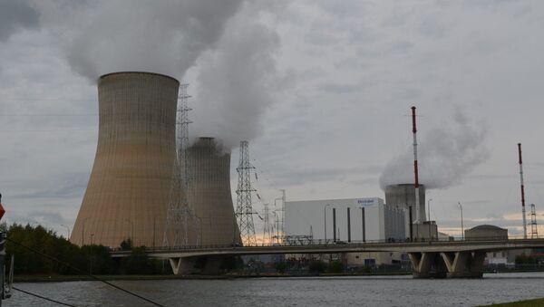 Belgijska elektrownia atomowa Tihange - Sputnik Polska