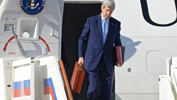 Szef amerykańskiej dyplomacji John Kerry - Sputnik Polska
