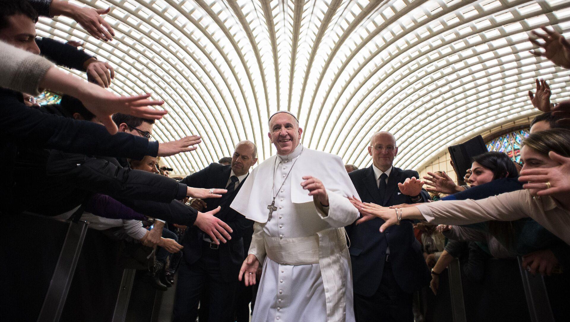 Papież Franciszek w Watykanie, 21 lutego 2015 - Sputnik Polska, 1920, 29.03.2021