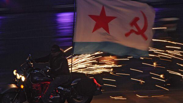 Nocne Wilki podczas ceremonii  zakończenia festiwalu Spasskaja Basznia 2011 - Sputnik Polska