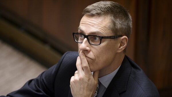 Premier Finlandii Alexander Stubb - Sputnik Polska