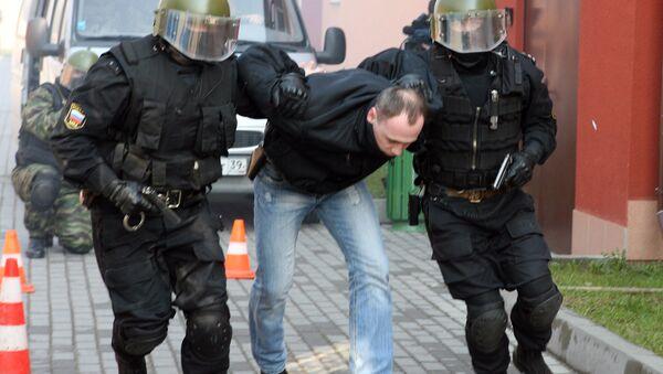 Ćwiczenia policji - Sputnik Polska