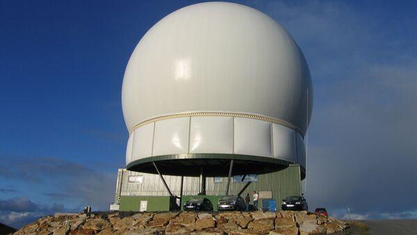Stacja radiolokacyjna Globus II w Norwegii - Sputnik Polska