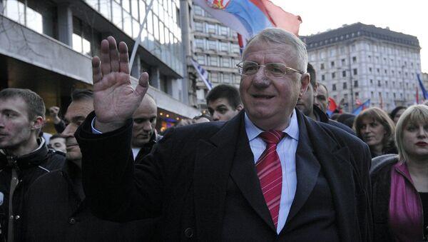 Lider Serbskiej Partii Radykalnej Vojislav Šešelj w Belgradzie - Sputnik Polska