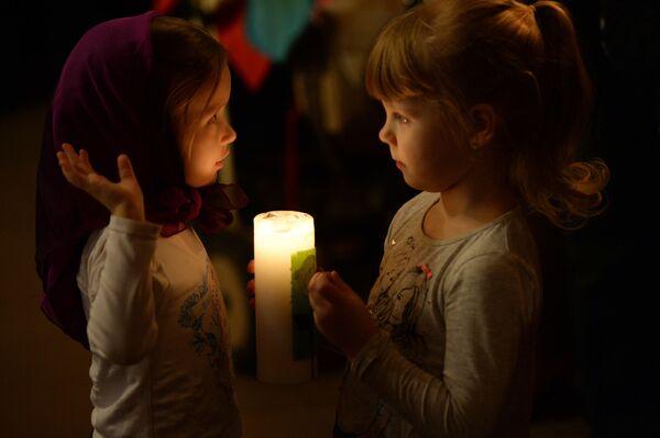Świętowanie katolickiej Wielkanocy w Rosji - Sputnik Polska